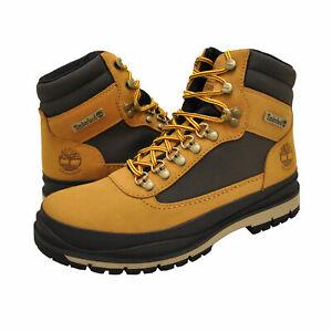 Men's Shoes Timberland FIELD TREKKER Waterproof Boots TB0A1Z7X WHEAT NUBUCK
