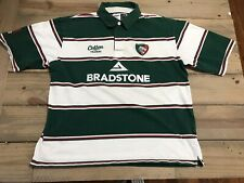 Leicester Tigers Vintage 2008 Cotton Traders Rugby Jersey Shirt Xl Short Sleeve
