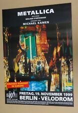 Metallica        Tourposter      1999      Berlin