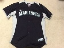 Seattle Mariners GAME USED JERSEY $200 MLB Authentic Size 50 Heilman Baseball