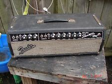 1967 Fender Dual Showman Guitar Amp Head Vintage Blackface