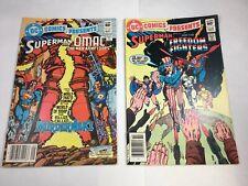 DC Comics Presents # 61 & 62 Superman Freedom Fighters OMAC VF- Bronze Age