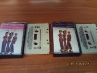25th Anniversary By Diana Ross And The Supremes (2 Cassette Set 1986 Motown)
