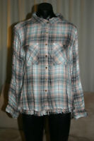 Tree Of Life Long Sleeve Shirt, Checked, M, NWT, RRP$59.95
