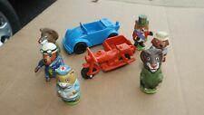 Vintage Playskool Puzzletown Figures & Vehicles (W)
