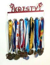 Custom Personalized Name Medal Holder Ice Figure Skating Award Display Hanger