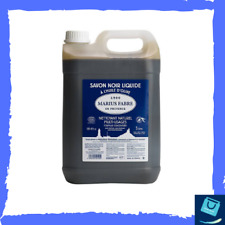 Savon Noir Liquide Huile D'Olive Marius Fabre Multi Usages Bidon 5 Litres