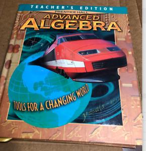 Advanced Algebra - Teacher's Edition - Prentice Hall Bellman Bragg Chapin