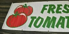 Fresh Tomatoes 8' x 3' Vinyl Banner Sign with Grommets
