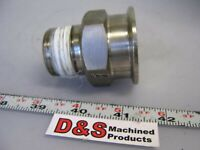 """Sanitary Fitting Adapter 1 """" NPT to  1 1/2 """" Flange"""