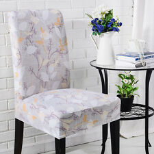 Floral Spandex Chair Covers Slipcovers Dining Room Wedding Banquet Party Décor