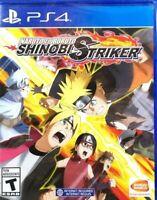 PLAYSTATION 4 PS4 VIDEO GAME NARUTO TO BORUTO SHINOBI STRIKER BRAND NEW SEALED