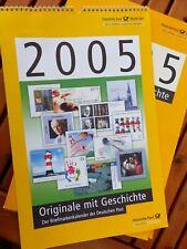 Briefmarken Kalender Deutsche Post 2005 Original Marken, im Folder