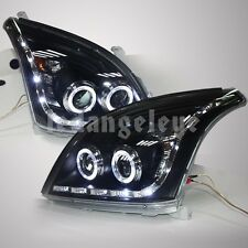 FJ120 LC120 Prado 2700 4000 LED Headlights for TOYOTA 2003 to 2009 year Black LF