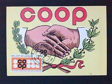 Belgio MK 1970 Coop ACI maximum carta carte MAXIMUM CARD MC cm c9978