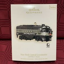2008 Hallmark Keepsake New York Central Locomotive Xmas Ornament Mint in Box