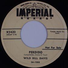 WILD BILL DAVIS: Perdido / Crosstown US Imperial R&B Jazz Promo 45 Hear