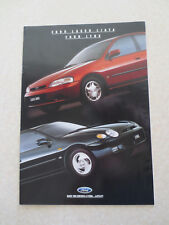 1994 Ford Laser Liata & Lynx automobile advertising booklet