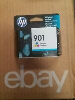 NEW!!! HP 901 TRI COLOR EXP. MAR 2022  CC656AN Quick & Free Shipping!!