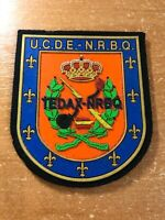SPAIN PATCH POLICE POLICIA TEDAX NRBQ BOMB EOD UNIT - ORIGINAL!