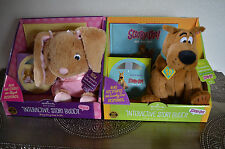 Hallmark Gift Books Interactive Story Buddy Abigail and Scooby-Doo! NEW