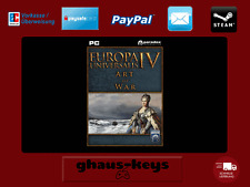 Europa Universalis IV Art of War Steam key PC Game código nuevo