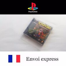 Protection transparente boite Sony PS1 Playstation- box boitier protector sleeve