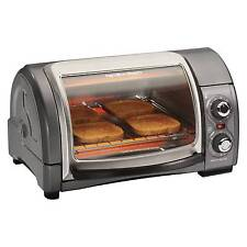 Hamilton Beach 4 Slice Easy Reach Oven - Gray- 31334