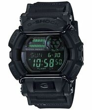 Casio G-shock Gd400mb-1 Black Face Protector Reverse Green LCD Digital Watch