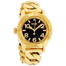 Nixon 38-20 Black Dial Stainless Steel Ladies Watch A410228200