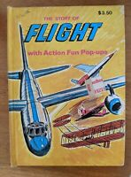 Vintage The Story of Flight - Action Fun Pop Up - Modern Promotions HC Book