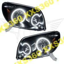 ORACLE Halo HEADLIGHTS BLACK Toyota 4Runner 03-05 WHITE LED Angel Demon Eyes