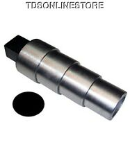 Oval Stepped Steel Bracelet Mandrel With Tang