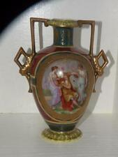 ANTIQUE ROYAL VIENNA KAUFMANN PORCELAIN URN VASE