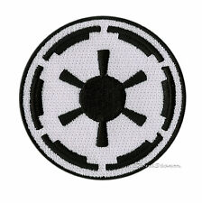 NEW STAR WARS MOVIE IMPERIAL EMBLEM LOGO Embroidered  IRON ON Patch Badge