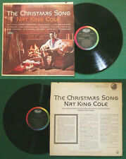 LP 33 Nat King Cole The Christmas Song JAZZ BLUES USA SW 1967 no cd mc vhs