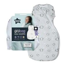 Tommee Tippee Grobag Newborn Snuggle Baby Sleep Bag, 0-4m, 2.5 Tog, Little Ollie