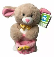 NEW Peter Cottontail Tan Plush Animated Musical Easter Bunny Toy 12""