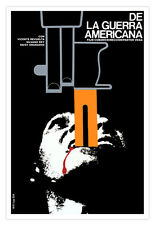 "Decor Graphic Design movie Poster 4""FROM the American War""Civil Rights.Social"