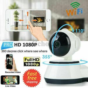 WIFI Webcam Wireless Pan Tilt Security 720P Network CCTV IP Camera Night Vision