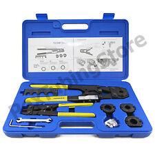 """PEX Crimp Tool Kit with Decrimper for sizes 3/8"""", 1/2"""", 5/8"""" & 3/4"""""""