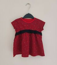 TODDLER | GIRLS | FIRST IMPRESSIONS | TANGO RED FESTIVE DRESS - SIZE 24 MONTHS