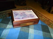 1995 PRESIDENT'S CRUISE ROME To ISTANBUL Trinket Box Nautical Collector W/ Cert