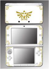 Legend of Zelda Link Hyrule Special Edition White Game Skin for Nintendo 3DS XL