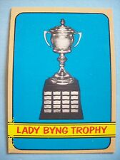 1972-73 Topps Trophy Card # 175 Lady Byng Trophy!  N/MT or Better!