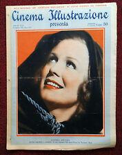 Cinema Illustrazione 1936 XI n° 35 Gloria Stuart      23/12