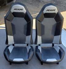 Polaris RZR XP1000 Seats  Black & Sliver - 1 Pair