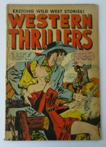 Western Thrillers #52 (1954) Golden Age GGA Cover MS Comics Good 2.0 HG200