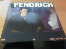 LP RAINHARD FENDRICH WIEN BEI NACHT POLYDOR 824 294-1  VG+/NM GERMANY PS 1985