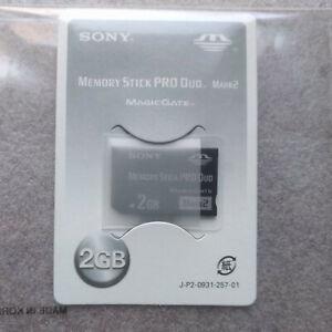 Psp - SD Card/ Card 2GB (Original sony) Memory Stick Pro Duo